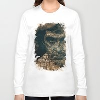 scarface Long Sleeve T-shirts featuring Scarface by Diego Tirigall