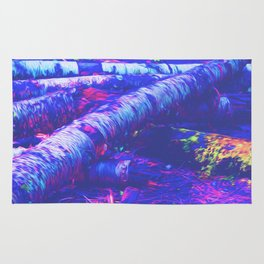 Logs of Colour Rug