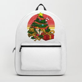 Christmas Tree And Gifts Backpack