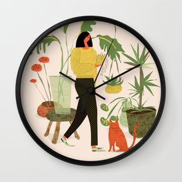 Migrating a Plant Wall Clock