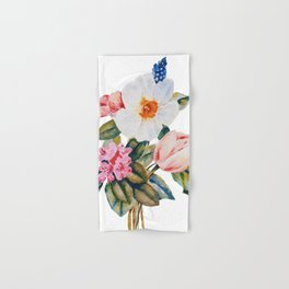 Loose Spring Bouquet Hand & Bath Towel