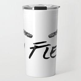 Brows On Fleek Travel Mug