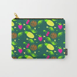 Watercolor Just Fruit Tropical Tutti Fruitti Pattern Carry-All Pouch
