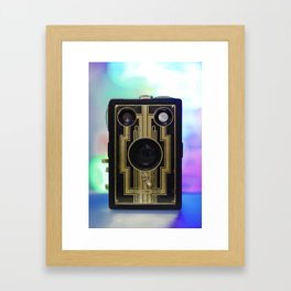 Vintage Art Deco Camera Framed Art Print