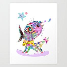 Look at me  Art Print