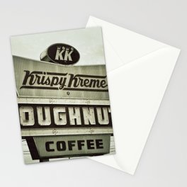 Doughnuts and Coffee Stationery Cards