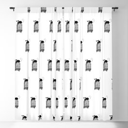 Cages Blackout Curtain