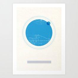 Neptune I Art Print