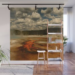 Hot And Colorful Thermal Area Wall Mural