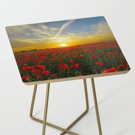 Beautiful Sunset Side Table