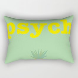 Psych! Rectangular Pillow