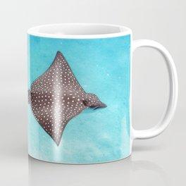 Watercolor Ray, Spotted Eagle Ray 02, St John, USVI Coffee Mug