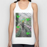 botanical Tank Tops featuring botanical  by Mike McDonnell
