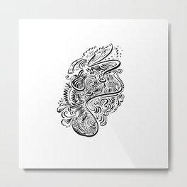 Flow 006 Metal Print