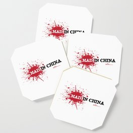 Mad in China Coaster