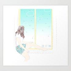 Toi et Moi Art Print