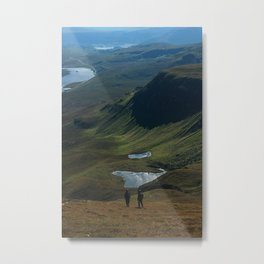 Trotternish Ridge Metal Print