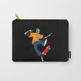 90s Gray Carry-All Pouch
