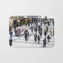 London Commuter Art Bath Mat