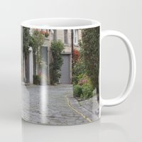 edinburgh Mugs featuring Edinburgh street by RMK Photography