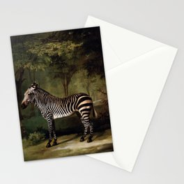George Stubbs - Zebra Stationery Cards