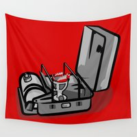 swedish Wall Tapestries featuring Stove  by mailboxdisco
