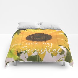 You are my sunshine... Comforters