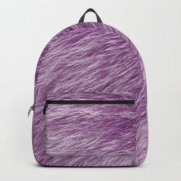 Pink Fur Backpack
