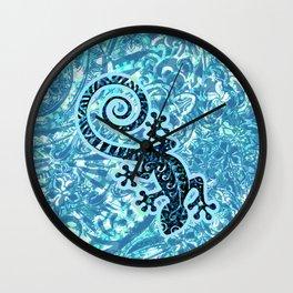 Hawaiian - Samoan - Polynesian Tribal Gecko Wall Clock