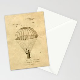 Falling, With Style Stationery Cards