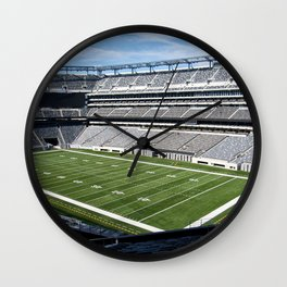 Metlife Stadium Wall Clock