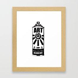 Art Saving Lives Framed Art Print