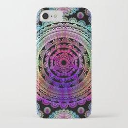 Zen Mantra Mandala iPhone Case