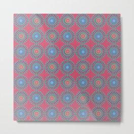 Spinners Pattern Metal Print