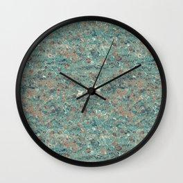 Agua Wall Clock