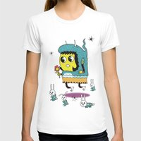 bunnies T-shirts featuring The Birds and the Bunnies  by Frenemy