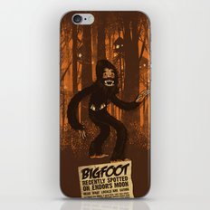 Bigfoot spotted on… iPhone & iPod Skin