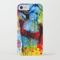 lindsay lohan iPhone & iPod Cases featuring Lindsay Lohan by Nic Moore