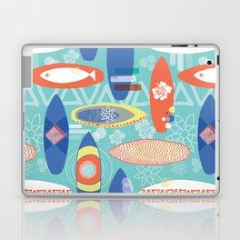 Vintage Surfboards Pattern Laptop & iPad Skin