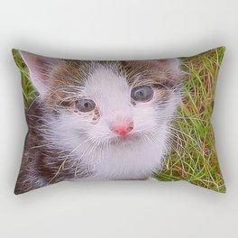 Extraordinary animals-Kitten Rectangular Pillow