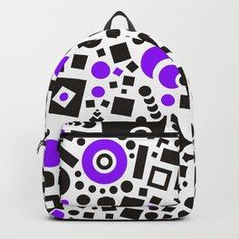 Black versus Purple Backpack