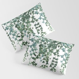 Ivy Watercolor Pillow Sham