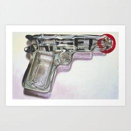 Tequila Shooter Art Print