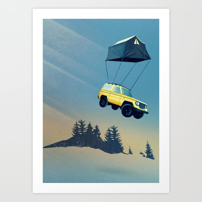 Darling, time to move on... Art Print