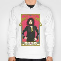 marc johns Hoodies featuring Marc Bolan by Saoirse Mc Dermott