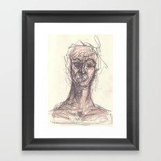 Ghoul #1 Framed Art Print