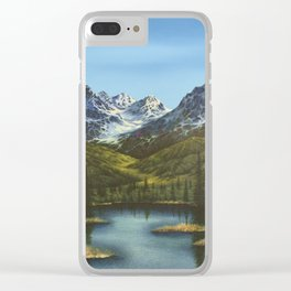 Frontier Spring Clear iPhone Case