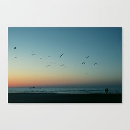 (Sun is) Gone Canvas Print