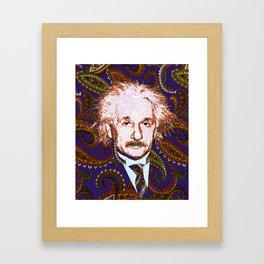 psychedelic quantum physics genius E = mc2 Framed Art Print