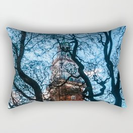Building with Clock in Buenos Aires Rectangular Pillow